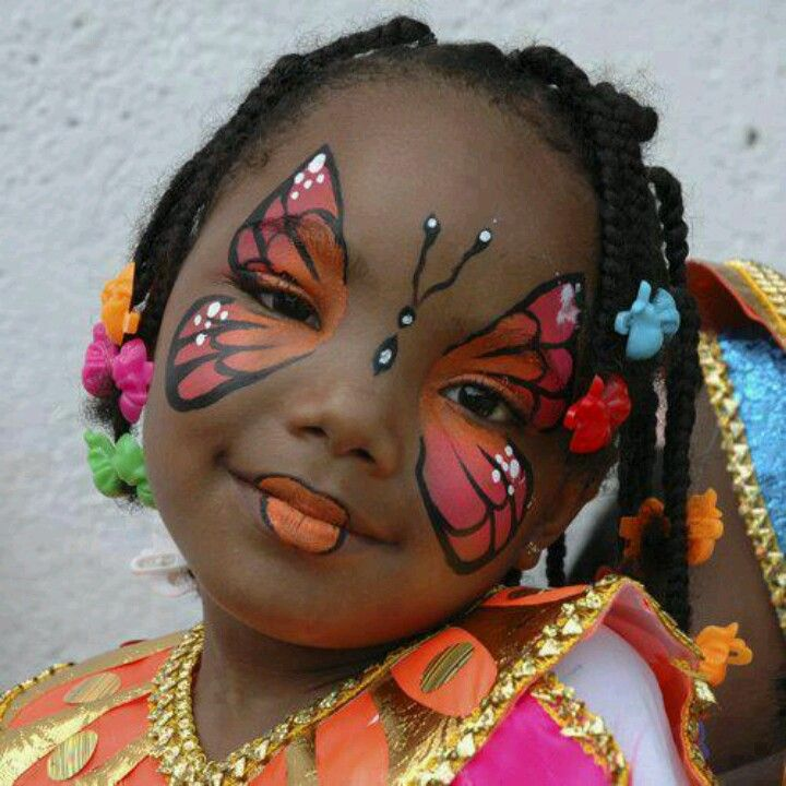 VERY CREATIVE FACE PAINTING IDEAS  FOR KIDS 2