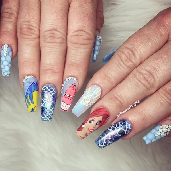 Beauty Of Disney Nail Designs For Ladies Fashionist Now