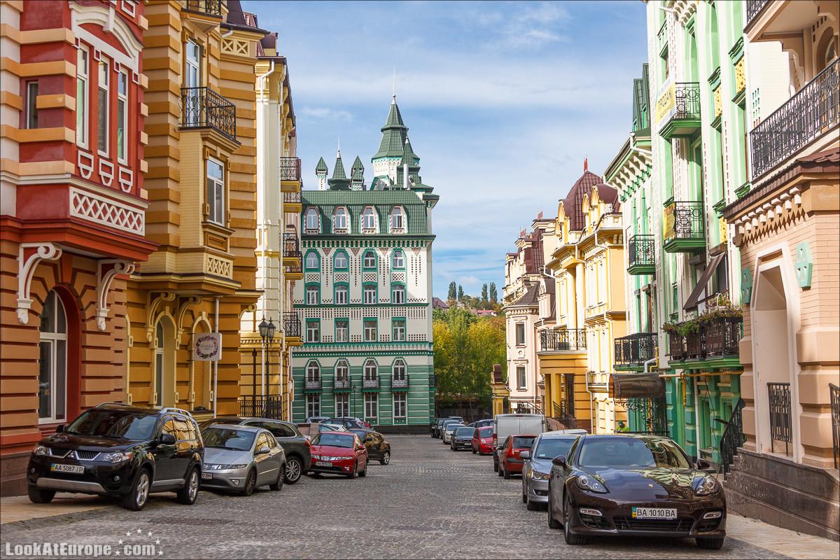 Киев, Воздвиженка   Vozdvizhenka district in Kiev   Блог LookAtIsrael.com путешествует по Украине