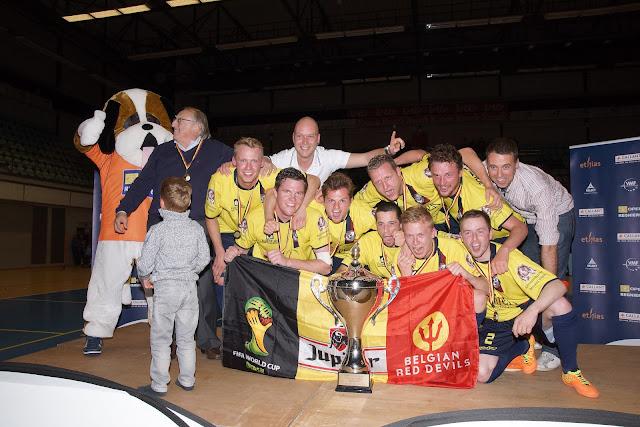 Synergie Merelbeke wint Beker van België minivoetbal