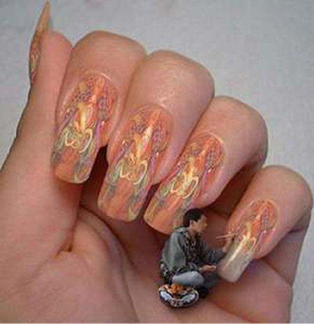 Fungal Growth Fingernail Layout
