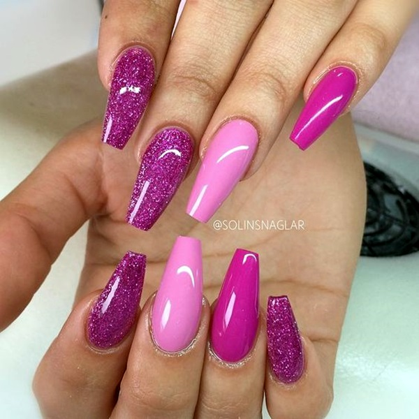 Purple Nail Art Designs