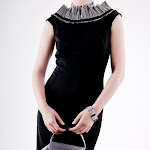 Danuska II black dress with silver rugffles;;240;;240;;;.jpg