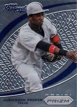 2012 Panini Prizm Top Prospects #TP1 Jurickson Profar - Texas Rangers