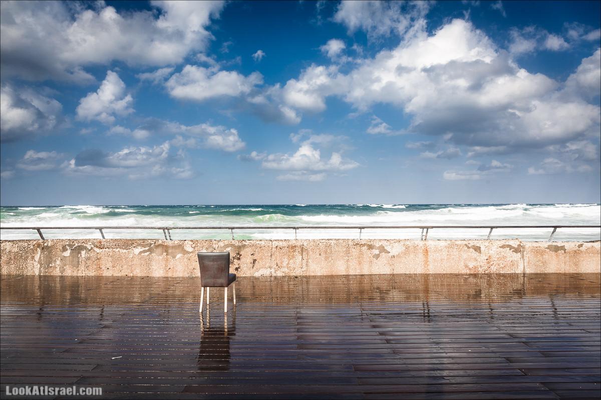 Дождливые прогулки по Тель-Авиву | LookAtIsrael.com - Фото путешествия по Израилю