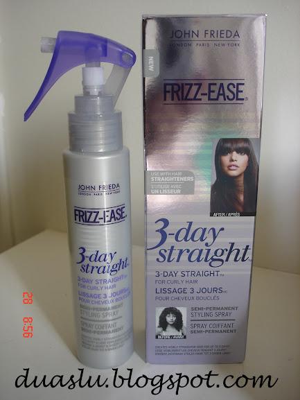 FRIZZ-EASE 3-day straight John Frieda