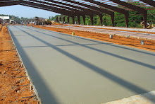 Systems Contracting Large Building Slab