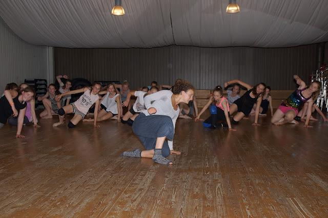 workshop dansen met Morgane Ribbens uit SYTYCD
