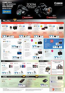 Canon Compact Cameras COMEX 2014