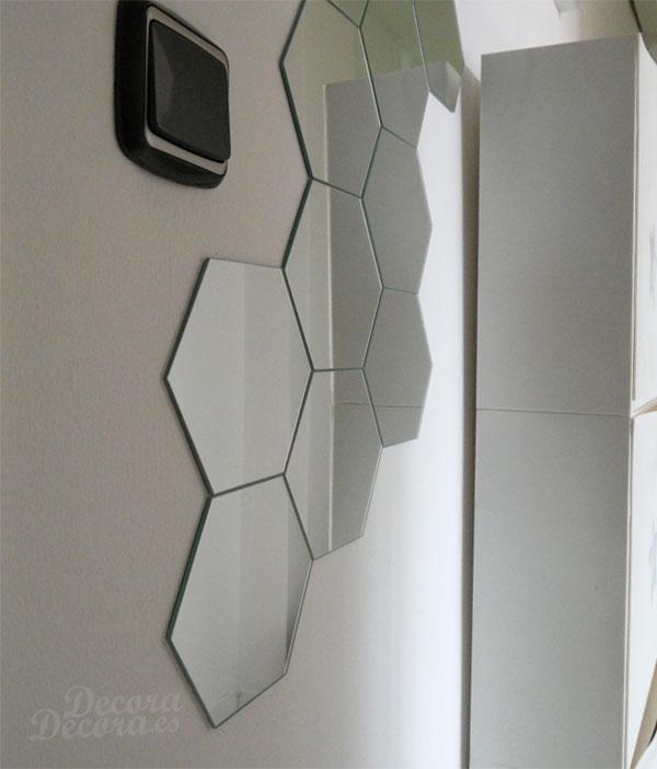 C mo colocar espejos adhesivos for Espejos pequenos para pegar
