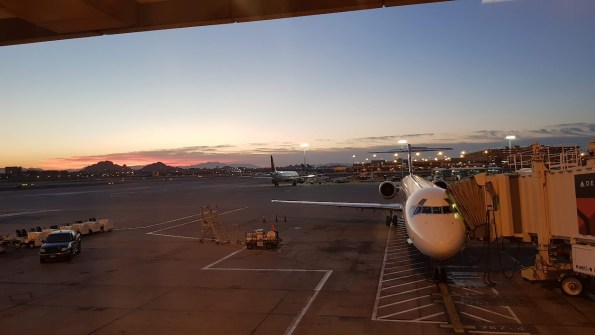 Early morning Phoenix