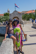 Tanya and her mom in Nin