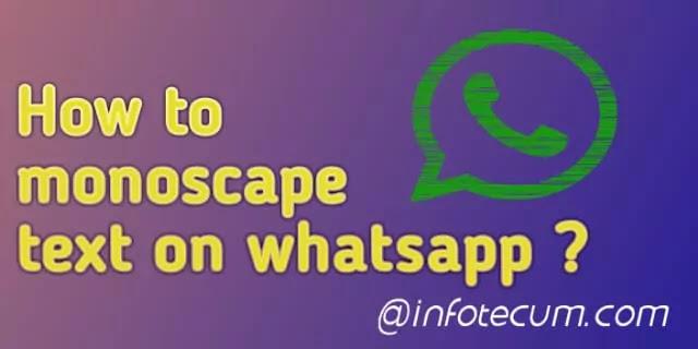 How to strikethrough text on WhatsApp