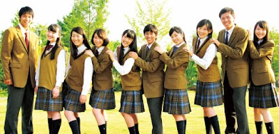 岡山学芸館高等学校の女子の制服1