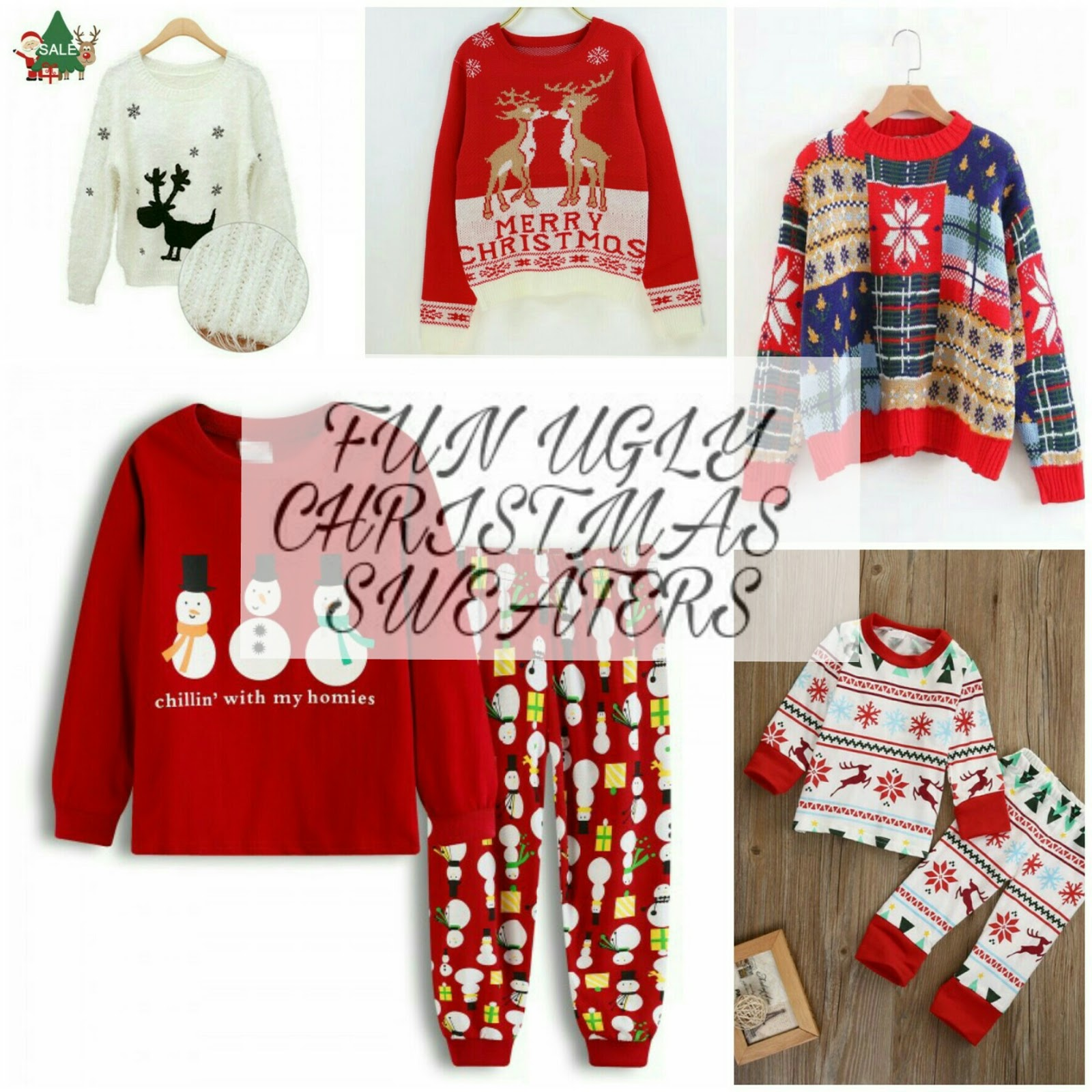 the festive season is almost here and we all know that christmas wont be complete without an ugly christmas sweater the weather gets cool during this