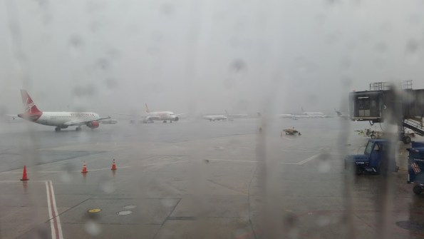 Crappy weather in Newark