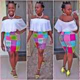 ankara short dresses styles 2017