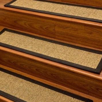Carpet Stair Treads And Rugs 9 X 29 Studio Sisal Natural Fiber | Sisal Carpet Stair Treads | Oak Valley | Skid Sisal | Stair Runner | Fiber Sisal | Landing Mat