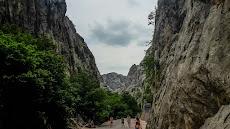 Paklenica: rocks everywhere!