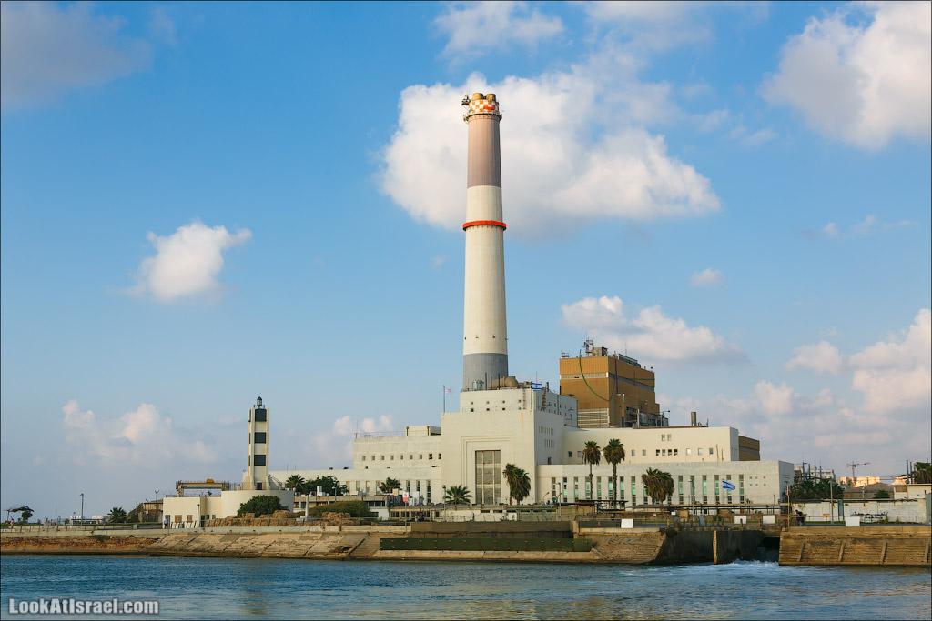 Электростанция Рединг в Тель Авиве   Reading power station in Tel Aviv   LookAtIsrael.com - Фото путешествия по Израилю