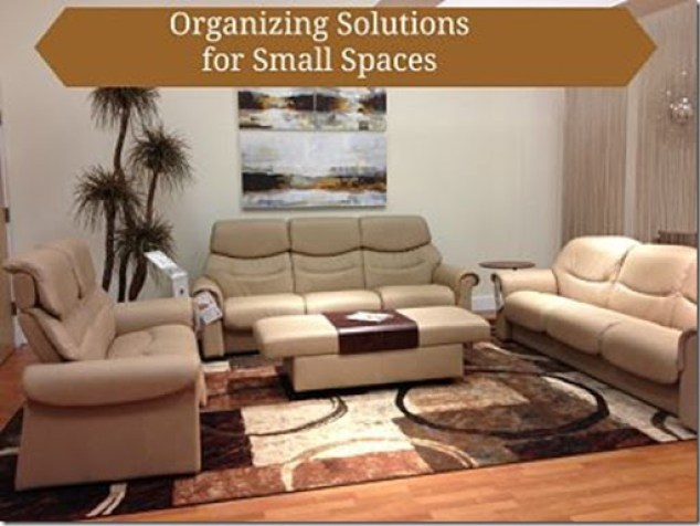 Organizing Solutions for Small Places