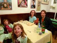 Dinner at a small family restaurant:  Sora Lucia