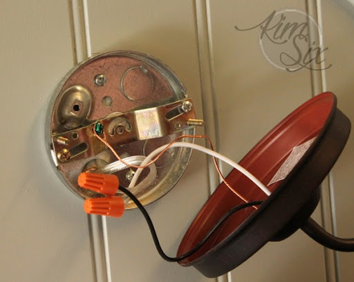 rewiring-hard-wired-lamp-to-plug-in.jpg on Non Wired Wall Sconces id=79173