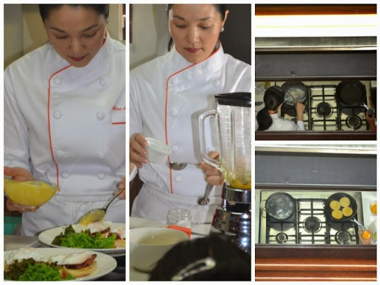 Chef Aileen Cooking Eggs Benedict and Foolproof Hollandaise