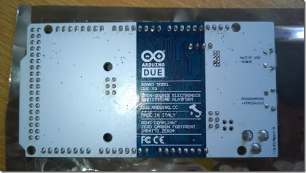 Retro scheda Arduino due