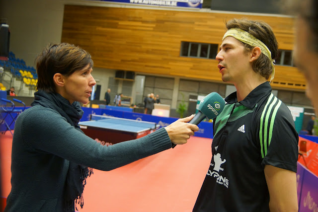 Lauric Jean bij Inge Van Meensel van Sporza