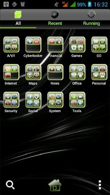 GO Launcher EX-Glossy Green Theme-03