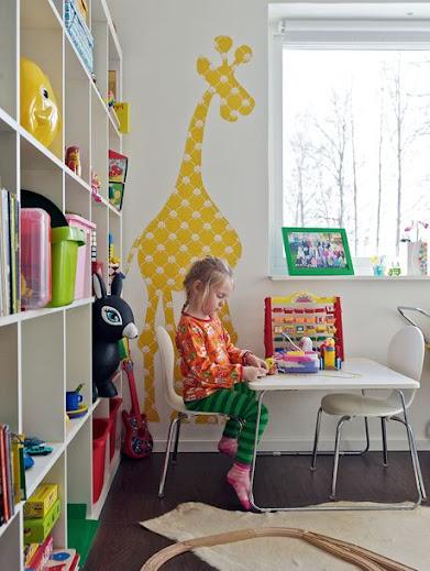 Mesa infantil.