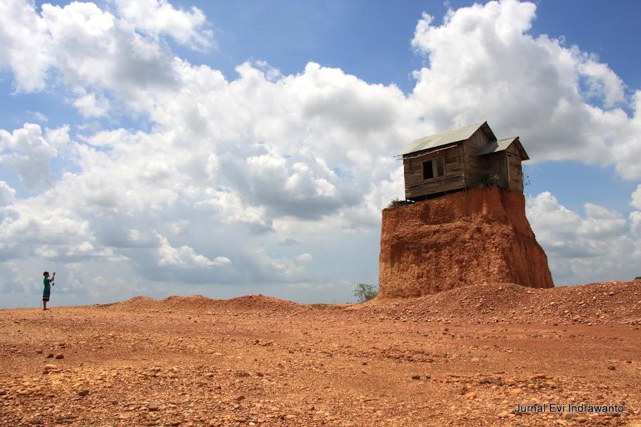 rumah jomblo gunung kupang banjarbaru kalimantan selatan