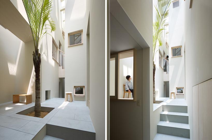 *建築師 Fujiwarramuro 居家住宅室內的戶外空間:日本 goido 中央庭園! 7