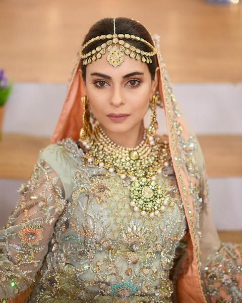 Amar Khan Looks Princes in glitzy bridal Shoot