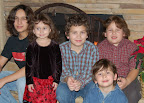 Left to Right: Logan, Isabella, Hunter, Colden, Connor - 2006
