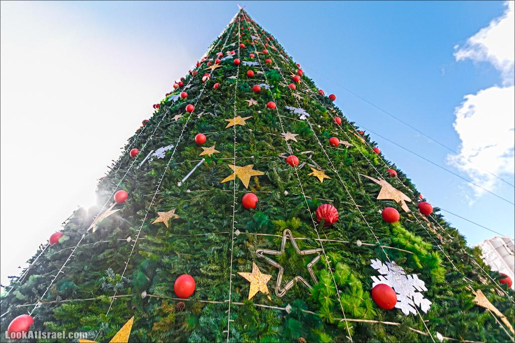Рождество в Назарете - празднично и не очень