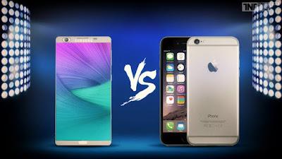 Device Comparison : Galaxy Note 7 vs Iphone 7 1