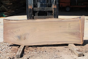 "058 - 4 Walnut  2"" x 34 - 29"" Wide x 8' Long  Kiln dried"