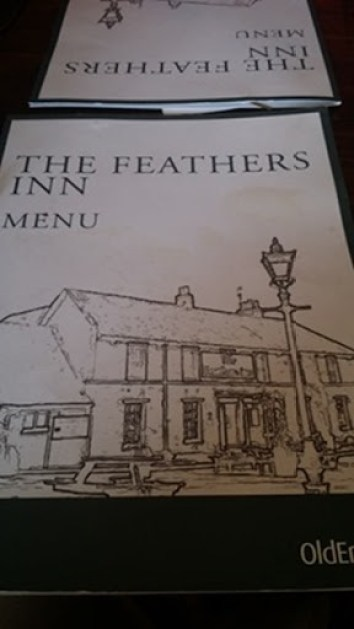 Feather's Menu