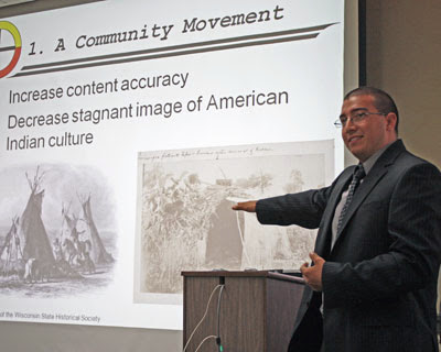 Helping teachers to teach Wisconsin Native American and Hmong history