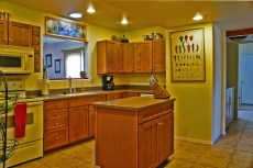 Kitchen with Corian Counters in horse property in San Tan Valley sitting on 2 acres