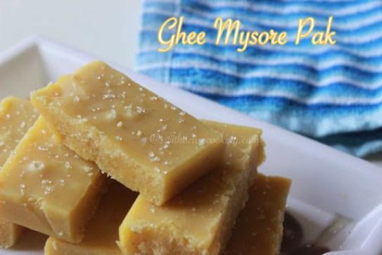 Ghee Mysore Pak3