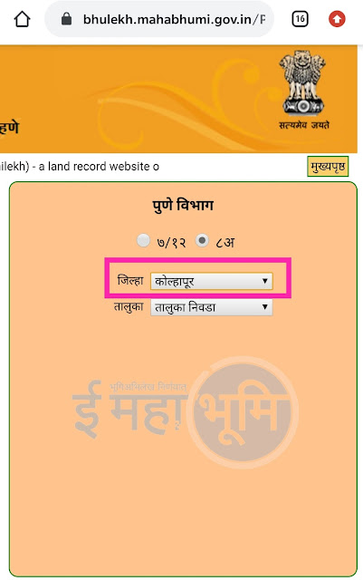 8a Mahabhulekh Utara Kasa Kadhycha(How You Can Get 8A Certificate) 8अ उतारा online कसा काढायचा??