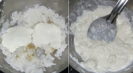 South Indian Curd Rice Recipe | Thayir Sadam / Daddojanam / Perugannam
