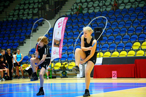 BK rope skipping in Roeselare