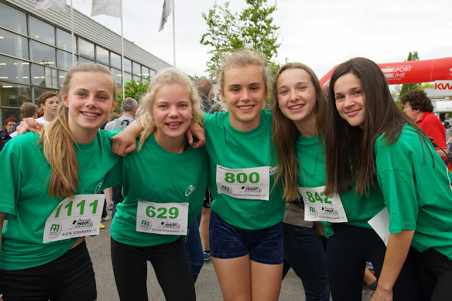 lopers studenten VMS Roeselare, Dwars over de Mandel 2015