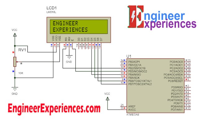 4 Bit LCD interfacing | Engineer Experiences