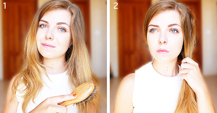 hair, side updo tutorial, step by step, chic and easy hairstyle, hair donut