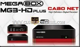 MEGABOX MG3 PLUS SATELITE